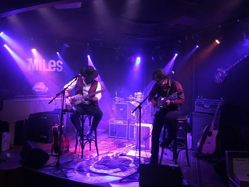 Ramblin' Dog, acoustic bluesband, at Elektra Sliedrecht and Café Miles, Amersfoort, photo: Markus Trum