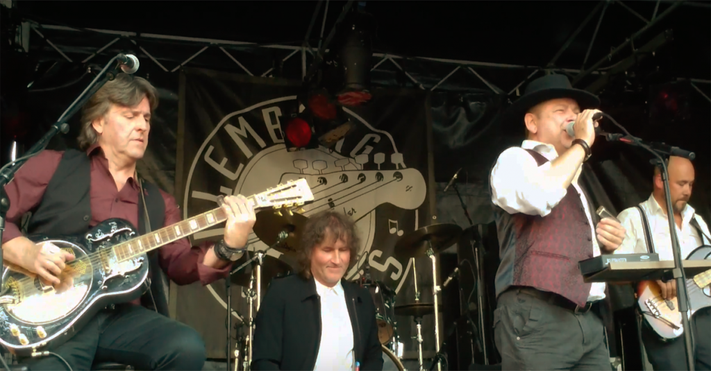 Ramblin' Dog, acoustic bluesband @ Culemborg Blues 2017 with Demons and Devils