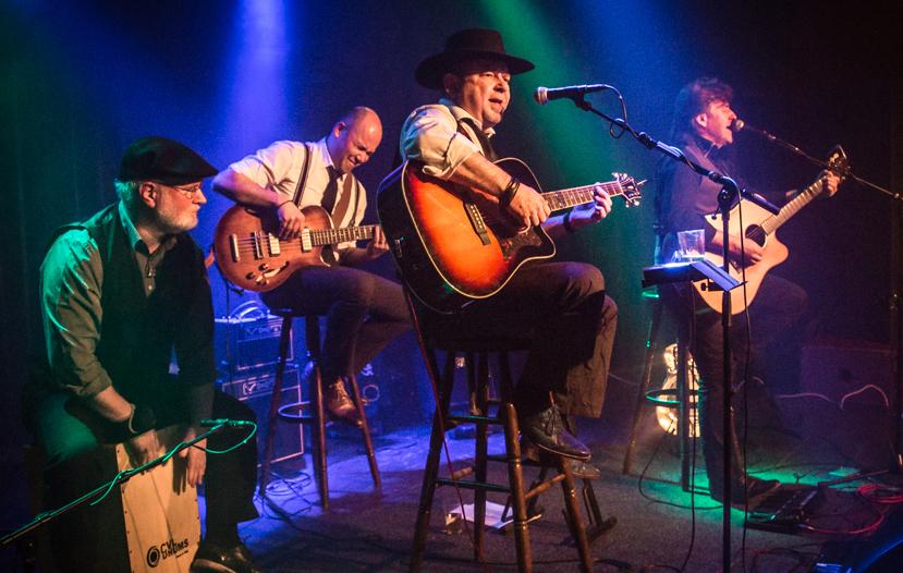 Ramblin' Dog, acoustic bluesband, Blues On Sunday, Radio 501, Manifesto, photo: Dime Spijkerman