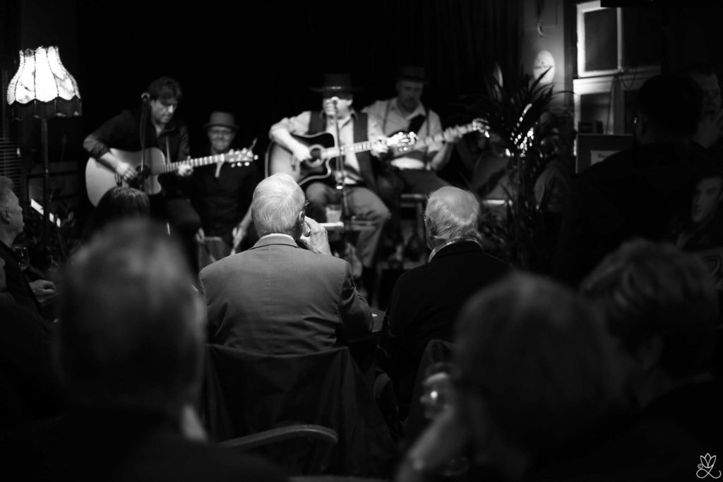 bluesband Ramblin' Dog. Foto: courtesy Yvonne Leautaud